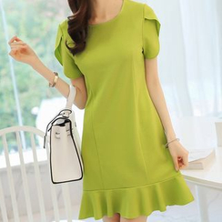 Q.C.T - Tulip Short-Sleeve Dress