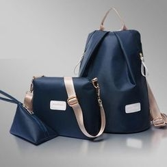 Denyard - Set: Backpack + Cross Bag + Coin Purse