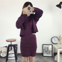 Florie - Set: Sweater + Pencil Skirt