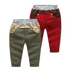 WellKids - Kids Applique Tapered Pants