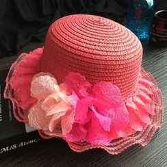 EVEN - Kids Flower Straw Hat