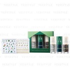 Innisfree - 2015 Christmas Eco Nail Set (#02 Green) (X-MAS Limited Set)