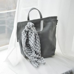 JUSTONE - Zipped Genuine-Leather Tote