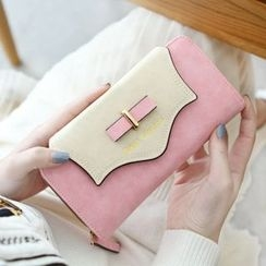 Rinka Doll - Bow Zip Long Wallet