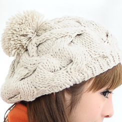 59 Seconds - Cable Knit Beret