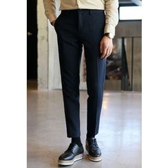 HOTBOOM - Brushed-Fleece Lined Dress Pants