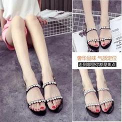 Chryse - Rhinestone Sandals
