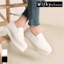 Wifky - Platform Slip-Ons