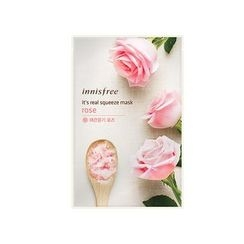 Innisfree - It's Real Squeeze Mask (Rose) 1pc