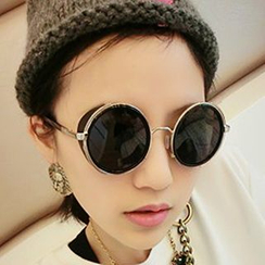 FaceFrame - Round Sunglasses
