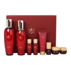 Sooryehan - Hyo Bidam Fermented Special Set: Toner 140ml + 20ml + Emulsion 130ml + 20ml + Essence 5ml + Cream 10ml + Eye Cream 5ml + Anti-Aging Mask 40ml