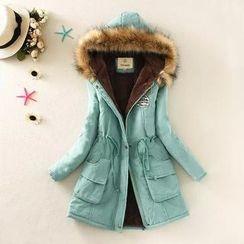 Aigan - Applique Padded Coat