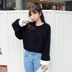 Tokyo Fashion - Color-Block Sweater