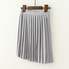 Meimei - Pleated Chiffon Skirt