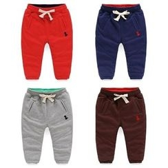 Seashells Kids - Kids Embroidered Sweatpants