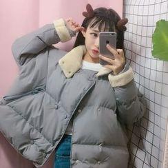 OCTALE - 双排扣夹棉夹克