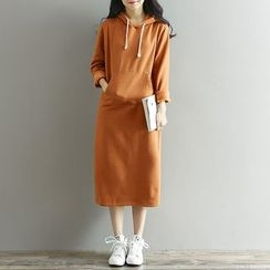 Fancy Show - Hooded Maxi Dress