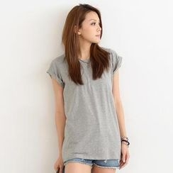 SO Central - Cuffed Short-Sleeve T-Shirt