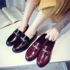 QQ Trend - Faux Leather Oxfords