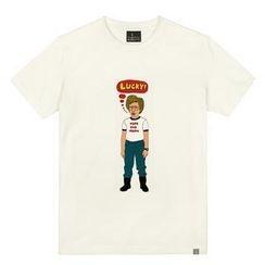 the shirts - Lucky Man Print T-Shirt