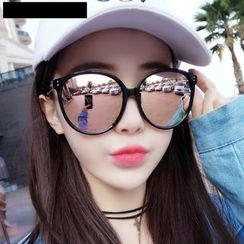 MOL Girl - Mirrored Round Sunglasses