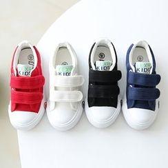 綠豆蛙童鞋 - 童裝帆布休閑鞋
