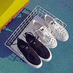 EUNICE - Cutout Sneakers