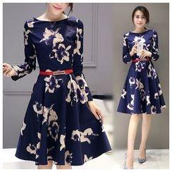 Ashlee - Colour Block Neoprene Dress