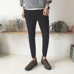 JUN.LEE - Skinny Tapered Pants