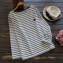 YOYO - Long-Sleeve Striped Top