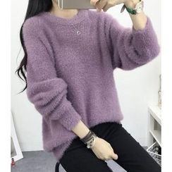 Dream Girl - Fleece Knit Top
