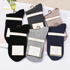 MITU - 纯色袜子