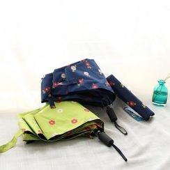 三木青禾 - 小花三折叠雨伞