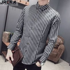 Jacka - Striped Shirt