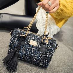 Pandabada - Tweed Handbag