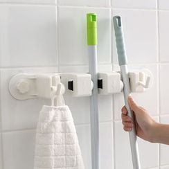Lazy Corner - Wall Mop Holder