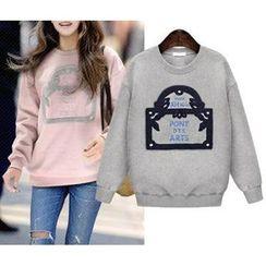 GRACI - Applique Pullover