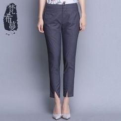 Fancy Mono - Slit Dress Pants