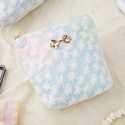 Cottoncraft - 蝴蝶结渐变色卫生巾收纳包