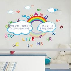 LESIGN - Rainbow Wall Sticker