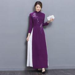Yumerakka - 长袖旗袍连衣裙