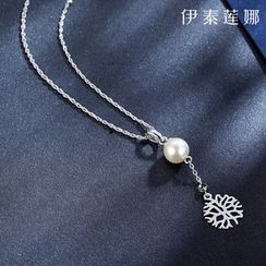 伊泰莲娜 - 雪花项链