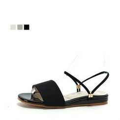 MODELSIS - Ankle Strap Sandals