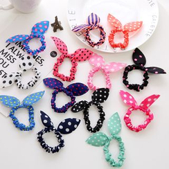 Seoul Young - Ear-Accent Dotted Hair Tie