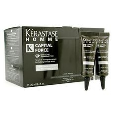 Kerastase - Homme Capital Force Revitalising Massage Rinse-Out Serum