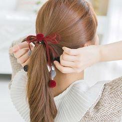 soo n soo - Pompom Strap Hair Tie