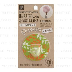 Kokubo - Reusable Adhesive Hook (Green Leaf Pattern)