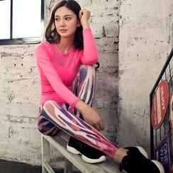 Lissom - 套装:运动上衣 + 印花裤