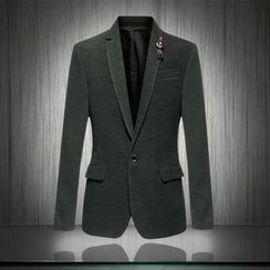 Cipher - Plain Woolen Blazer