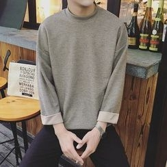 DUKESEDAN - Mock Neck Long Sleeve T-Shirt